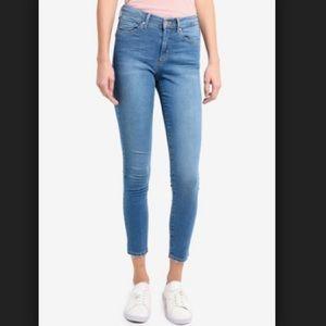 TOPSHOP Moto Mid Blue Jeans